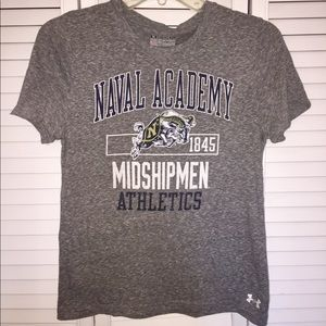 US Navy Under Armor Naval Academy T-shirt (small)